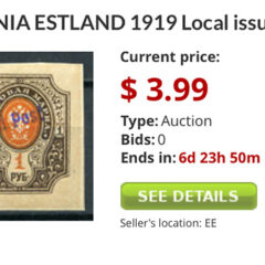 Baltic stamp auctions